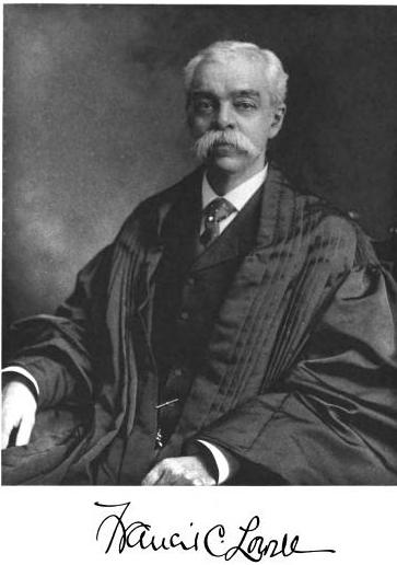 Judge Francis C. Lowell (January 7, 1855 – March 6, 1911)