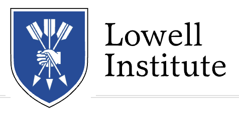 THIS MILL TALK IS SPONSORED BY THE LOWELL INSTITUTE