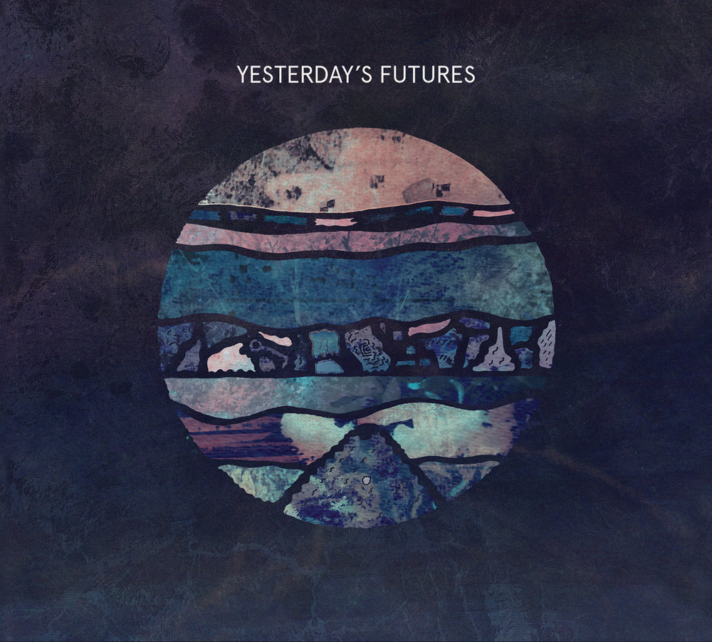 "12"" Album art for Key & Greenwood Sharps - Yesterday's Futures on High Focus Records."
