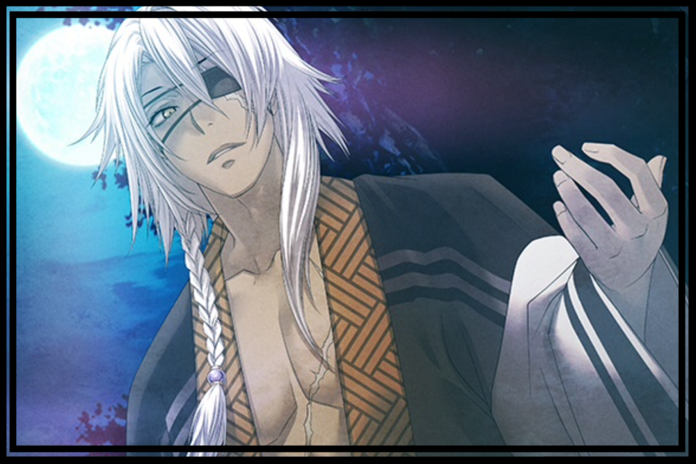 Ageless & Bored - A man of mystery. Although he serves Shingen Takeda for many years, he looks ageless. He takes an interest in the heroine and tries to approach her.