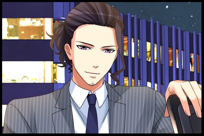 The Irresponsible CEO - Kunihiko is your first cousin once removed, but you often call him uncle due to his age.  You haven't seen him since your cousin's wedding when you were eleven years old. He is the CEO of Aikawa.com, an IT company, and is helping you to find a job.