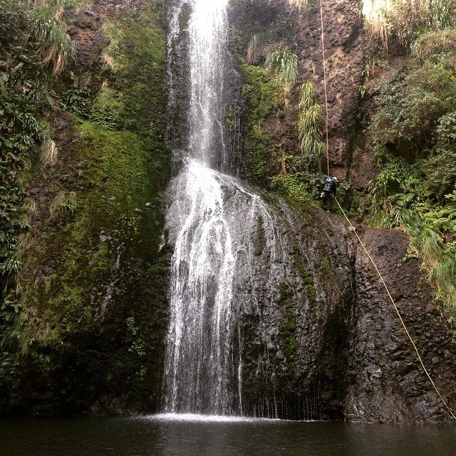KiteKite Falls, near Piha Beach, Waitakere Ranges, Auckland NZ