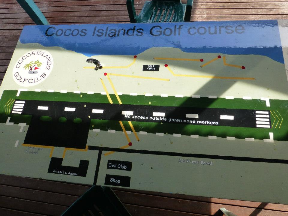 Golf Course / Airport in Cocos Keeling Islands