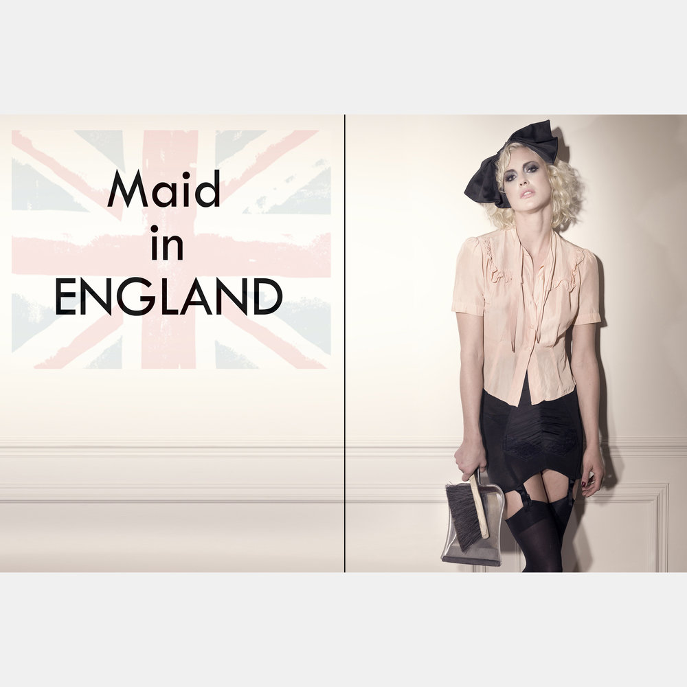 Maid in England Editorial
