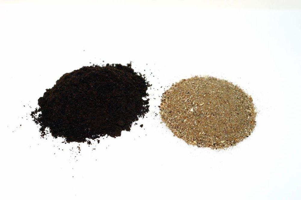 Crude sand -