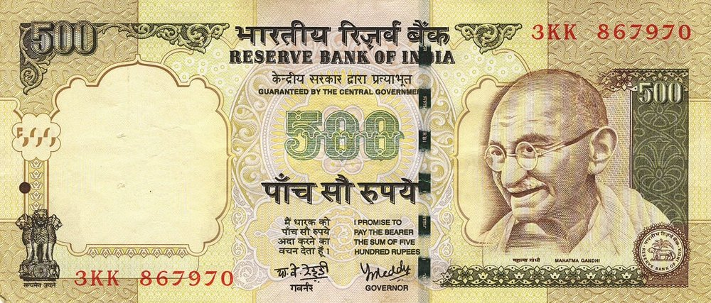 Indian Currency Demonetisation