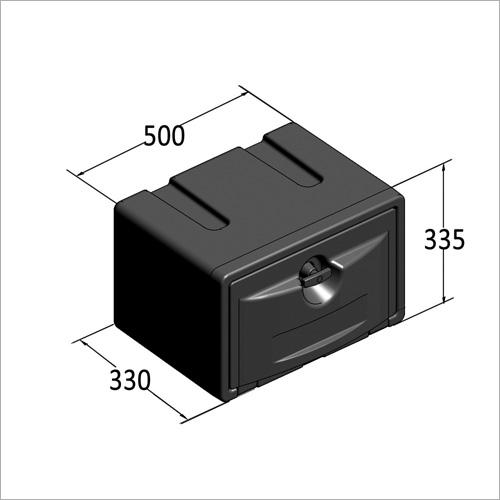 209450 -Werkzeugkasten PVC 500x330x295 mm