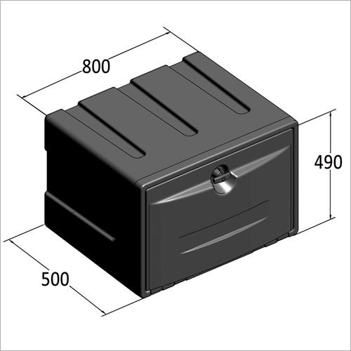 209480 -Werkzeugkasten PVC 800x490x500 mm