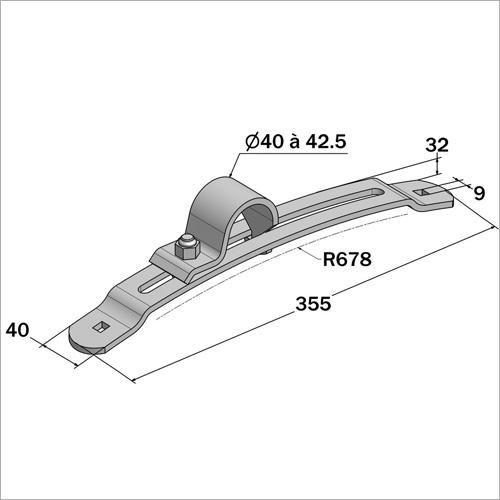 230002 -Kotflügelhalter verstellbar