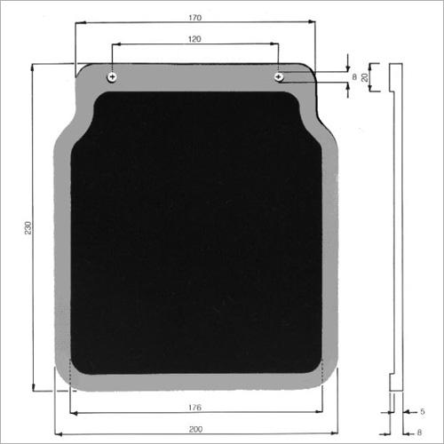 64300 -Schmutzfänger 200 x 230 mm