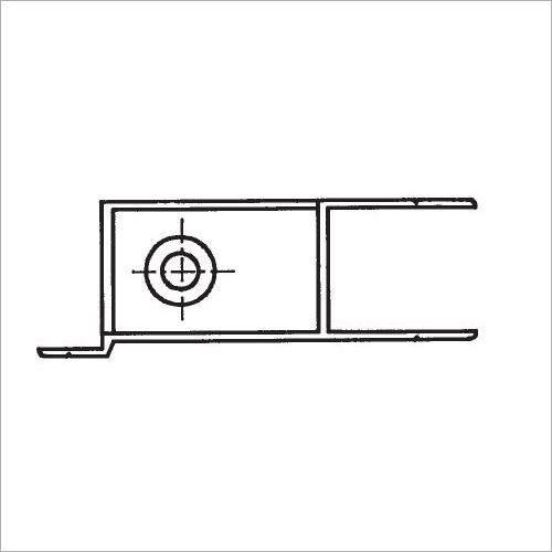 60200S -Riegelverschluß m. A. elox. 314 mm links