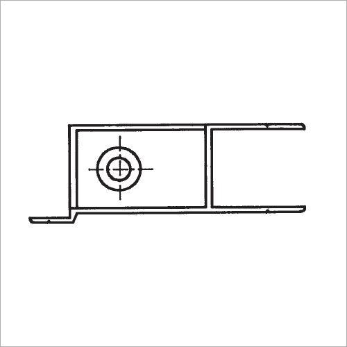 60201S -Riegelverschluß m. A. elox. 361mm links