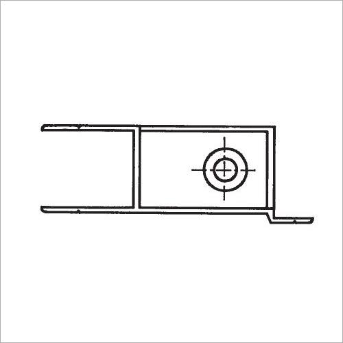 60210S -Riegelverschluß m. A. elox. 314 mm rechts