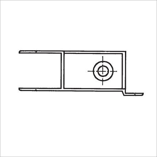 60211S -Riegelverschluß m. A. elox. 361 mm recht