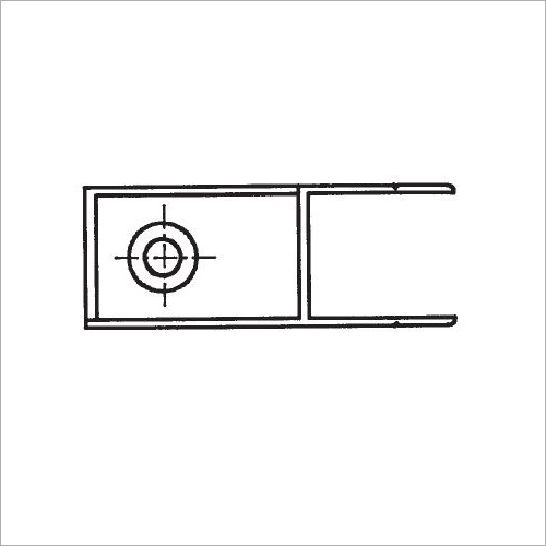 60301S -Riegelverschluß o. A. elox. 361mm links