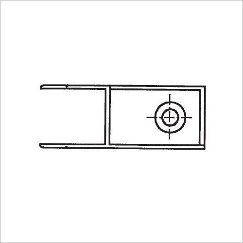 60311S -Riegelverschluß o. A. elox. 361 mm recht