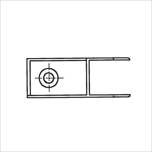 60320S -Riegelverschluß o. A. elox. 400 mm links