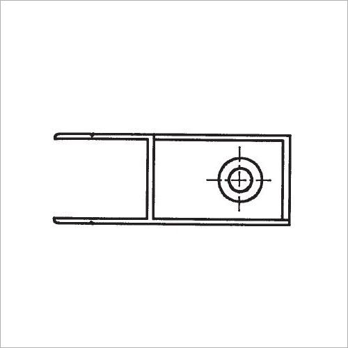 60330S -Riegelverschluß o. A. elox. 400 mm recht