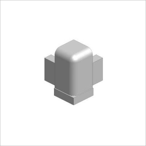 64230 -Deckelecke grau 100 mm