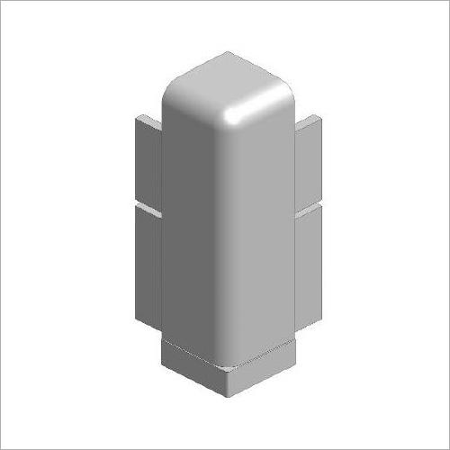 64235 -Deckelecke grau 200 mm