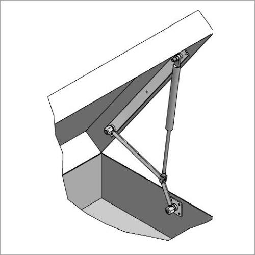 64250/N -Öffnungsmechanik für Alu-Deckel, NEU