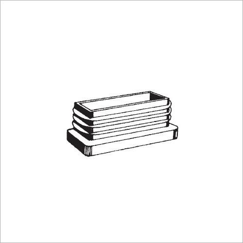 67009 -PVC-Stopfen VL 45 x 30 x 1.5 mm