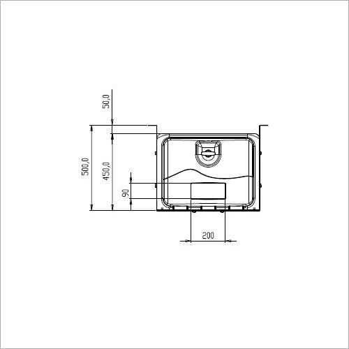 209360 -Werkzeugkasten PVC600x450x450 mm