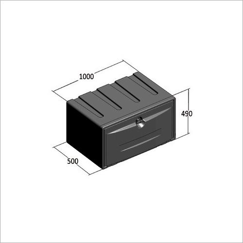 209500 -Werkzeugkasten PVC 1000x500x490 mm
