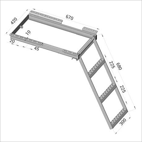 112650 - 3 Stufen-Einstiegsleiter