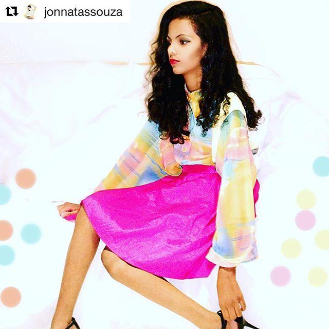 Peças confeccionadas com tecidos do #bancodetecido por @jonnatassouza Não está um arraso??? 👏🏼👏🏼👏🏼😍☺️❤️ #candycolors #fashion  #look # #loveit #sustentabilidade #love #job #tecidodereuso #reuso #upcycling #tecido #tecidos #saopaulo