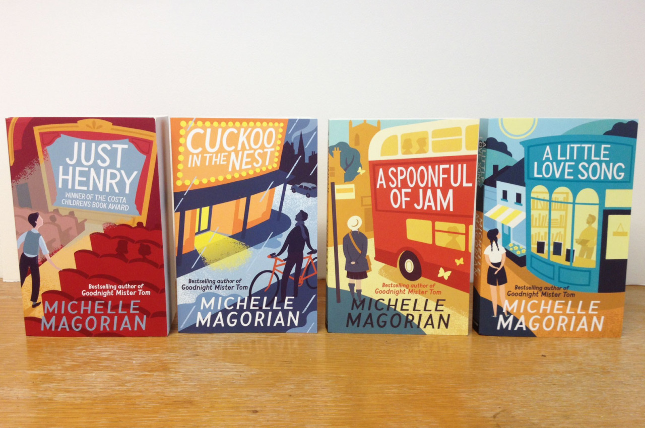 Pleased to receive hard copies of the Michelle Magorian titles I illustrated for Egmont!