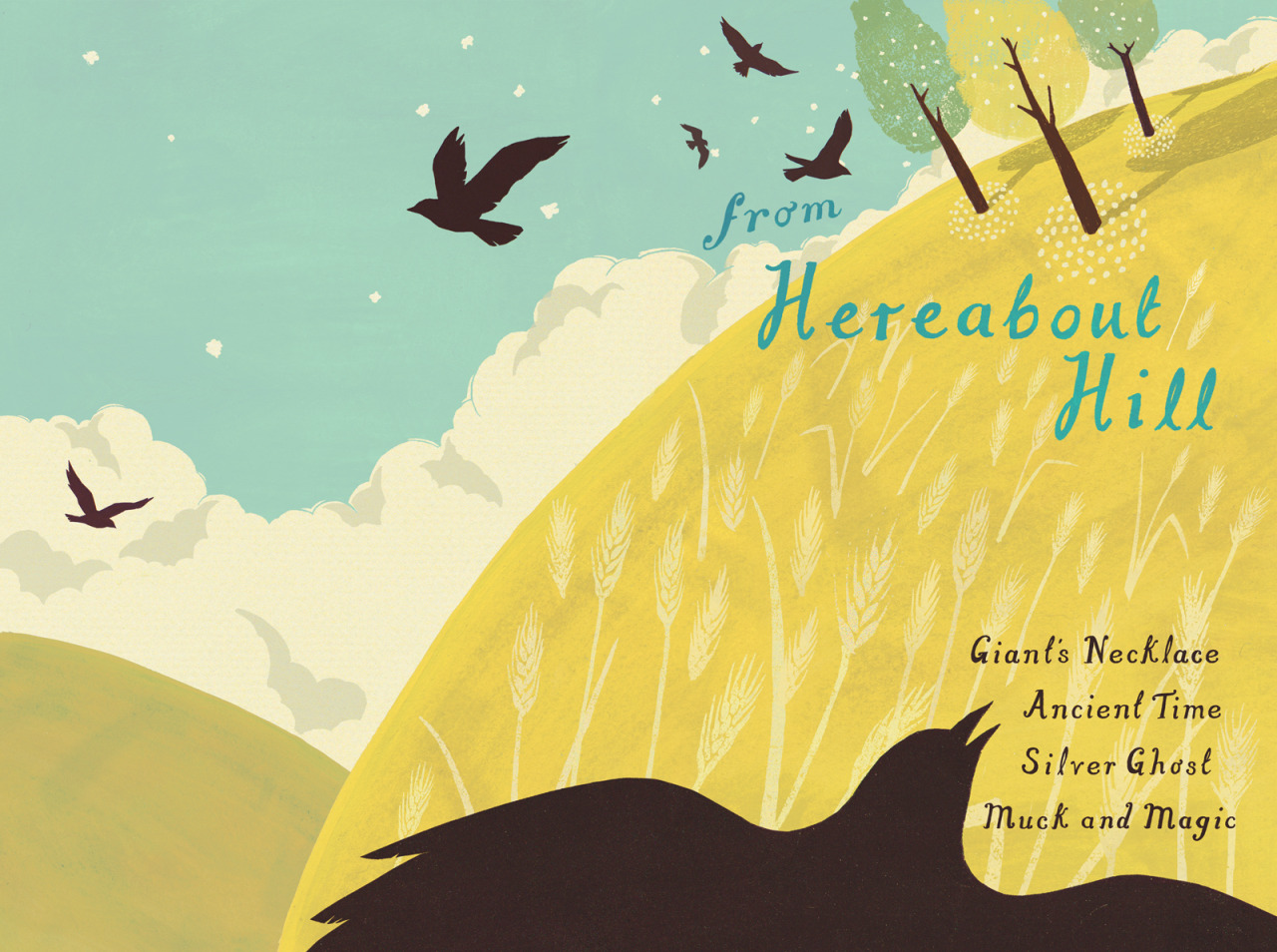 About one million (six) years ago I won an award for my book cover design for Michael Morpurgo's 'From Hereabout Hill'. You can read about me still going on about it  here on the AOI Winners Archive