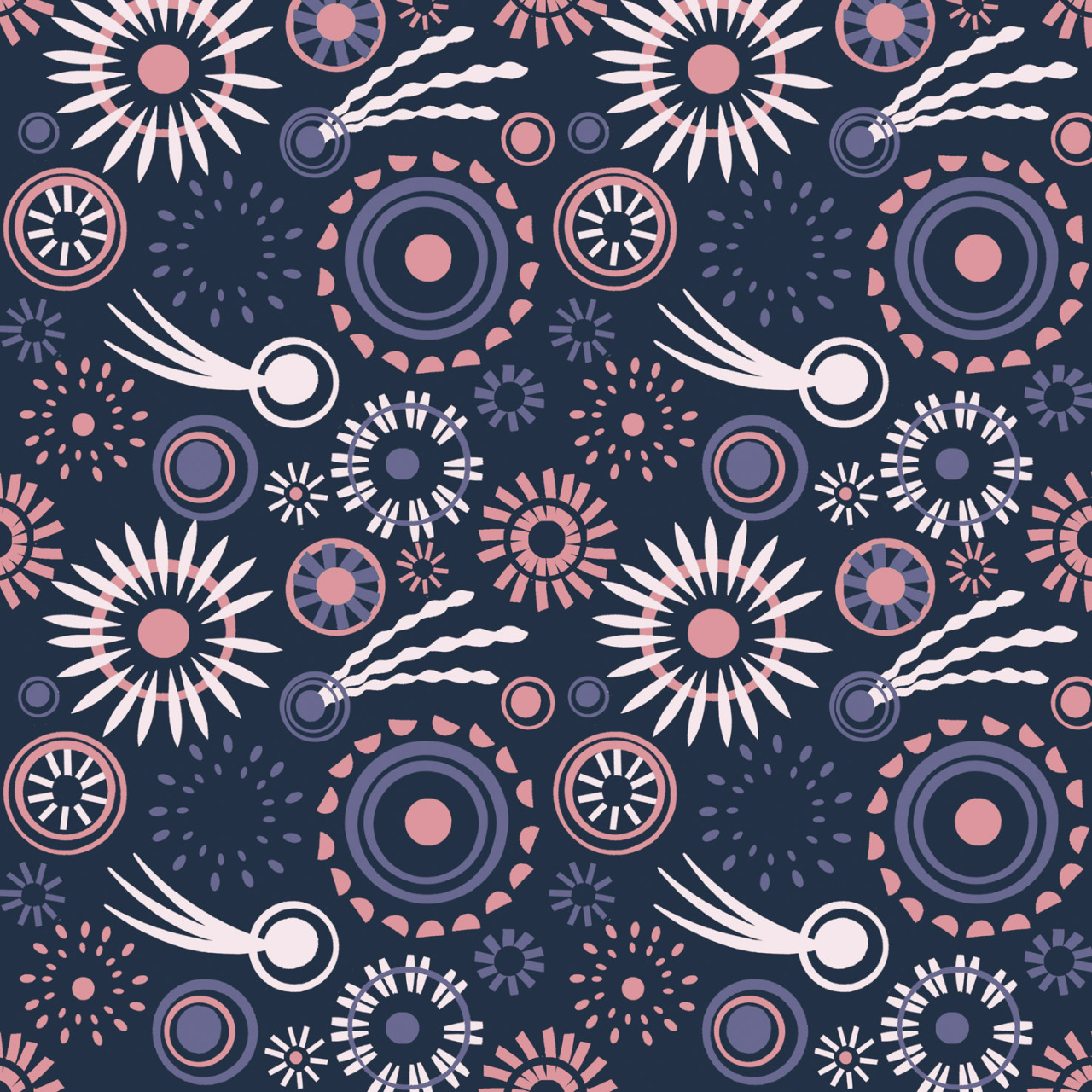Remember remember…a fireworks inspired pattern