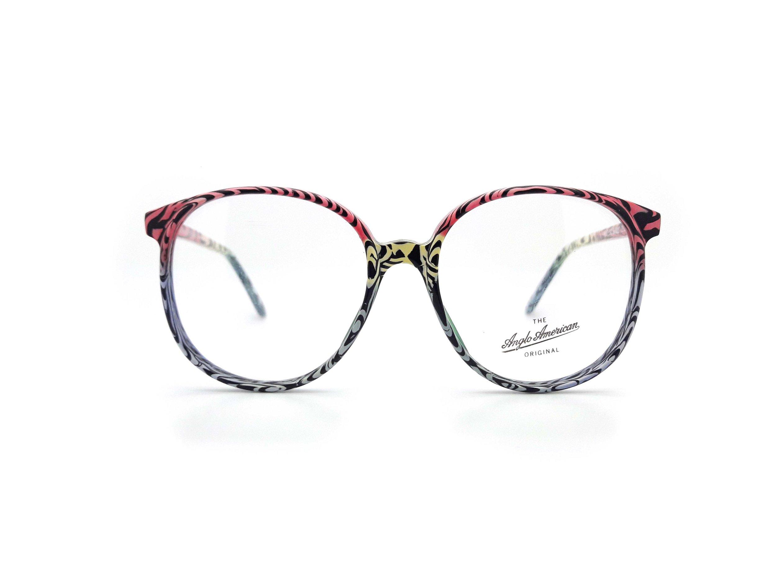 Anglo American Eyewear 132 Vintage Glasses Frame with Demo Lens — Ed ...