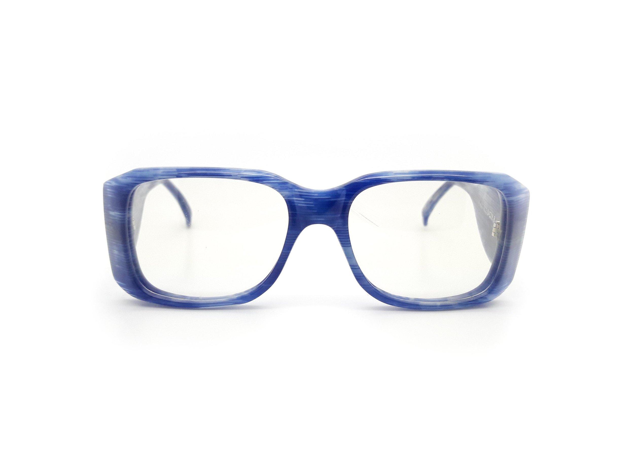 Anglo American Optical 403 Vintage Blue Optical Frame Glasses — Ed ...
