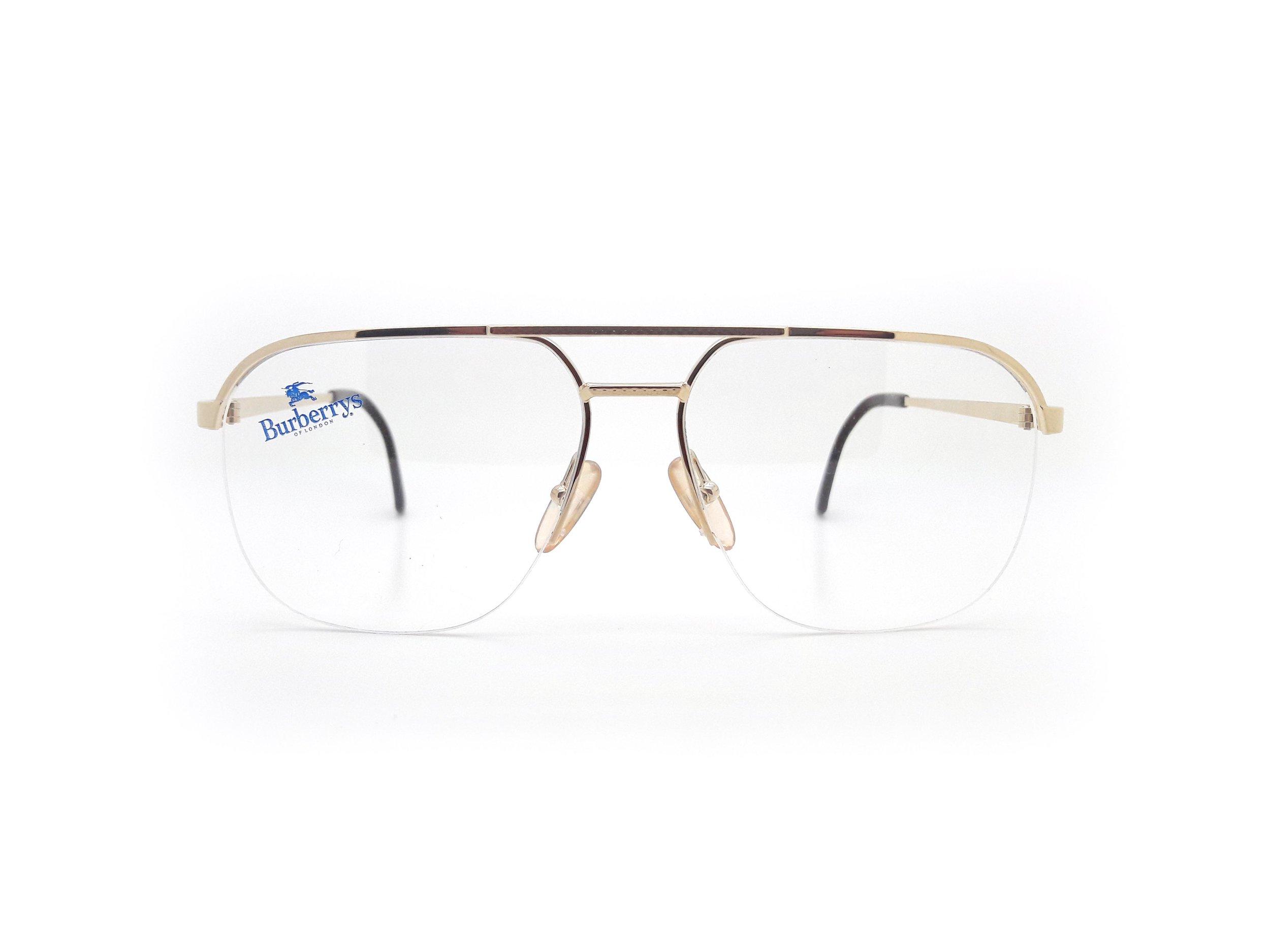 Burberry B8826 000 Vintage Glasses — Ed & Sarna Vintage Eyewear