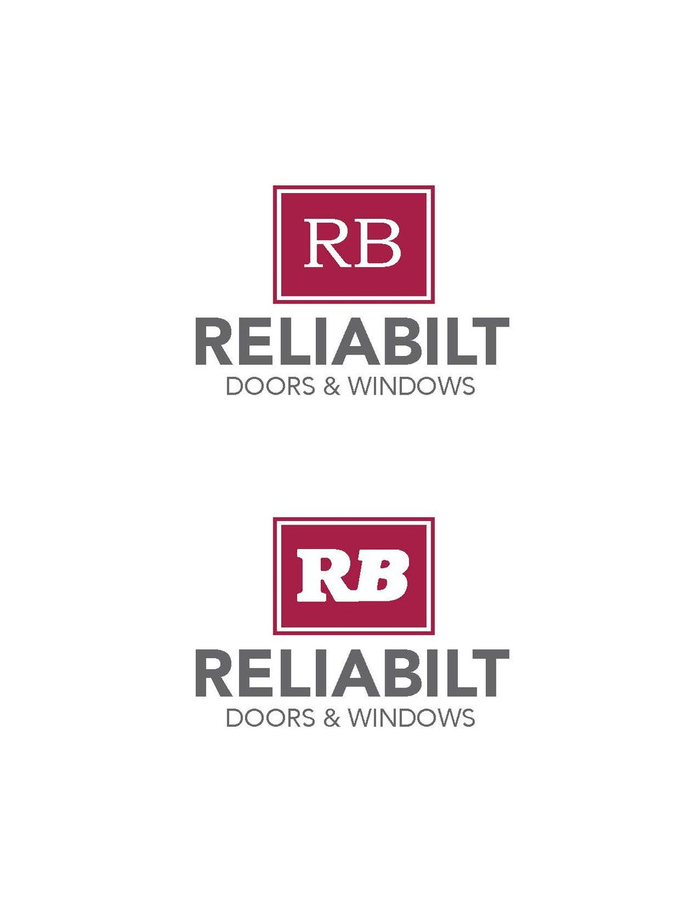 sc 1 st  erin k. monaghan creative & Redesigned logo for RB Doors u0026 Windows u2014 ERIN K. MONAGHAN CREATIVE