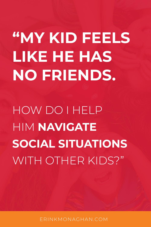 Social Skills Friendships
