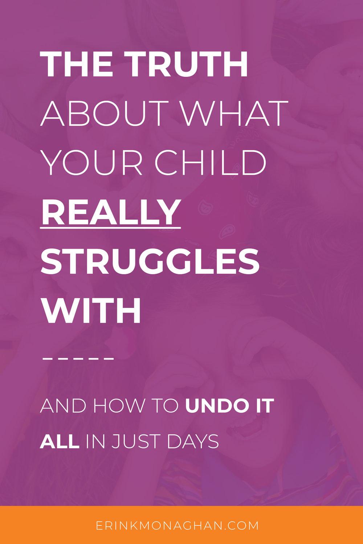 Child Struggling