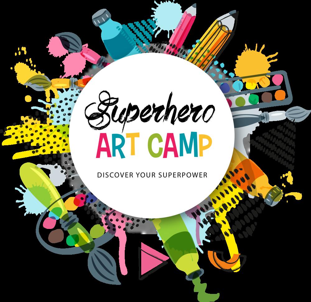 Superhero Art Camp
