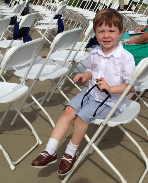 Finn at Wedding