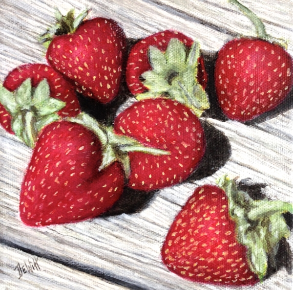 Strawberries by David DeWitt