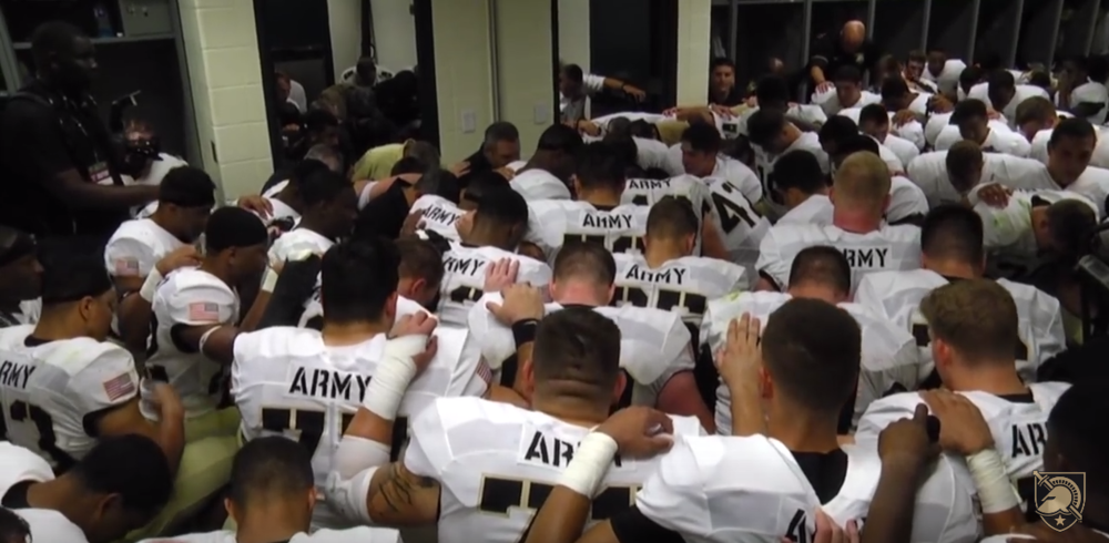 West Point considers this kind of activity to be inappropriate.