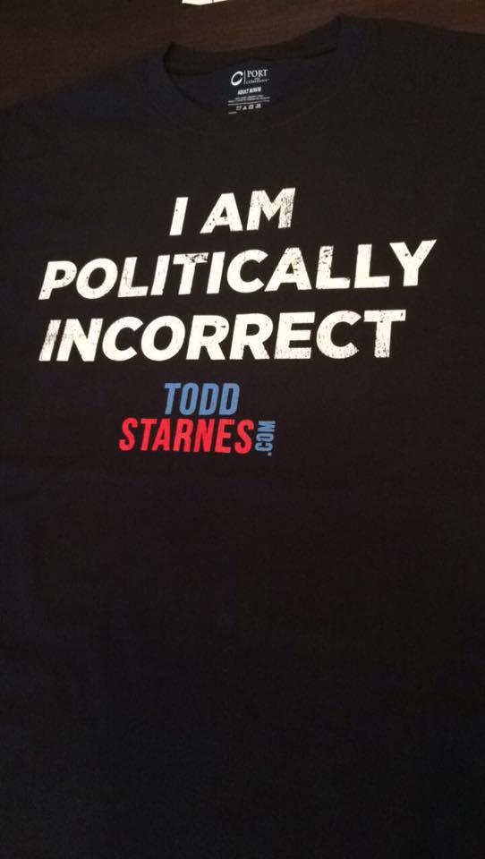 """Click here to get your """"I Am Politically Incorrect"""" t-shirt!"""