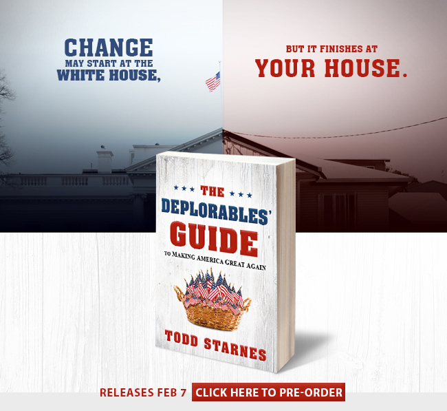 CLICK HERE TO GET A PERSONALLY SIGNED COPY OF TODD'S NEW BOOK!