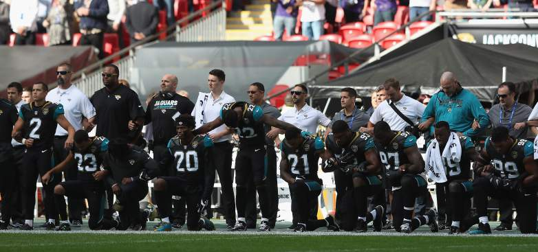 SHAME! NFL Players Took a Knee on Foreign Soil to Disrespect America