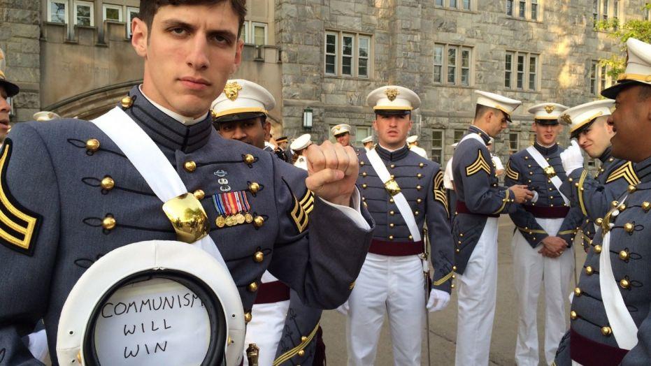 U.S. Military Academy graduate Spenser Rapone