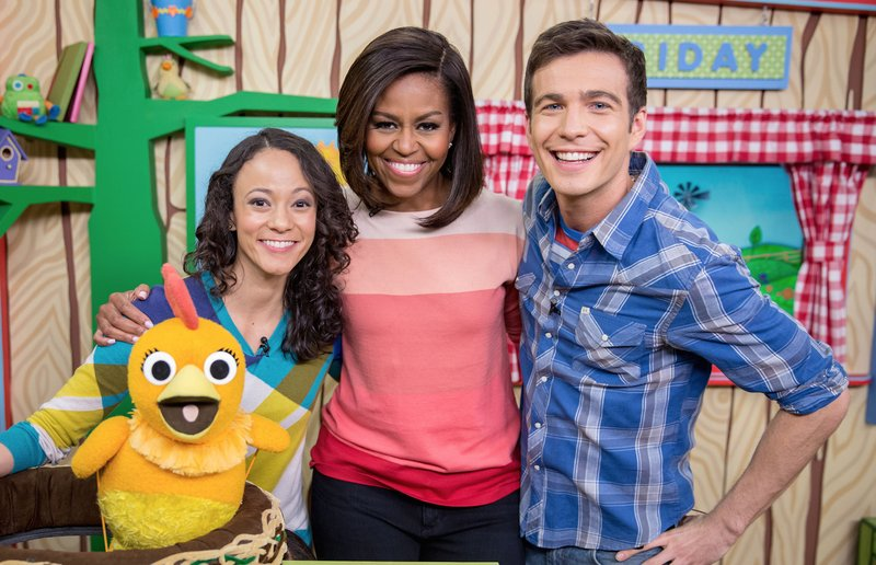 Tim spent 2013-2017 as host of Sprout's LIVE Sunny Side Up. Sharing his mornings with preschoolers, SSU enjoyed tons of special guests, including First Lady Michelle Obama.