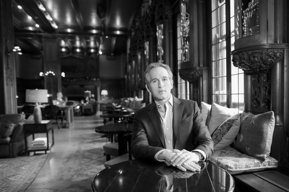 National Geographic Marine Photojournalist Brian Skerry, photographed by Zachary James Johnston at the Chicago Athletic Association