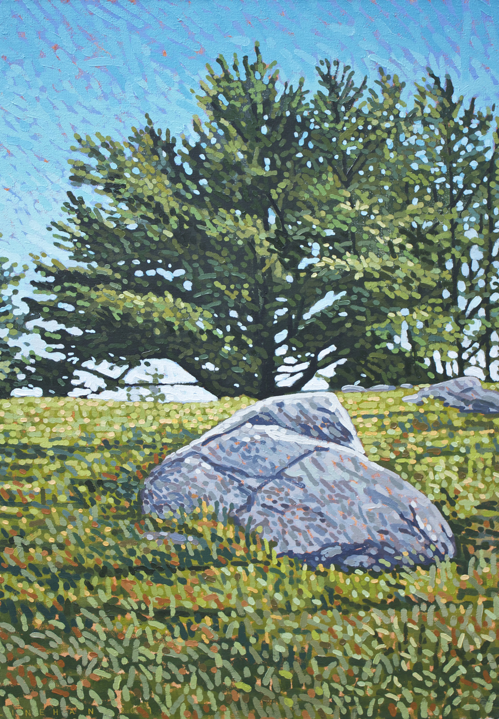 Big Rock, Big Pine